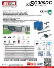 Cátalogo Abrepuertas de SG300-12V.pdf, Puertas y Portones Automaticos S.A. de C.V.