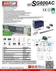 Cátalogo Abrepuertas de SG600-110V.pdf, Puertas y Portones Automaticos S.A. de C.V.