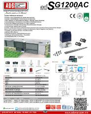 Cátalogo Abrepuertas de SG1200-110V.pdf, Puertas y Portones Automaticos S.A. de C.V.