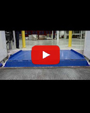 Blue Giant VL Vertical Storing Dock Drive Through Application