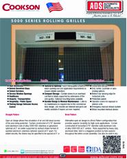Cookson Cortina Enrollable T-Rejilla S-5000, Puertas y Portones Automaticos S.A. de C.V.
