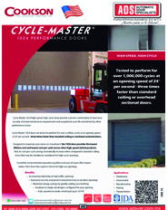 ookson Cortina Enrollable Rapida Cycle Master 1024, Puertas y Portones Automaticos S.A. de C.V.