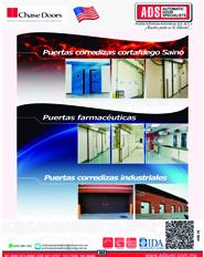 Puerta Industrial Aplicación Externa Tecnologia Empujar-Jalar VECTOR M2