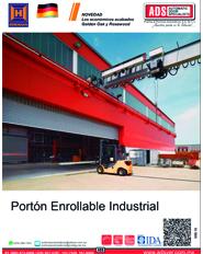 Porton Enrollable Industrial Hormann, Puertas y Portones Automaticos S.A. de C.V.