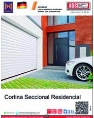 Cortina Seccional Residencial Hormann, Puertas y Portones Automaticos S.A. de C.V.