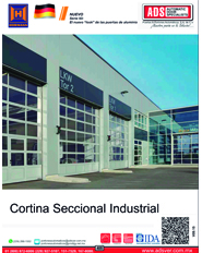 Cortina Seccional Industrial Hormann, ADS,ADS Puertas & Portones Automaticos
