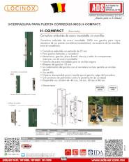 Cerradura Para Puerta Corrediza MOD.H-Compact