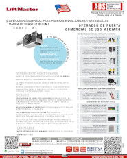 liftmaster MT V0915.pdf, H, Puertas y Portones Automaticos S.A. de C.V.