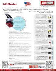 liftmaster GT V0915.pdf, T, Puertas y Portones Automaticos S.A. de C.V.
