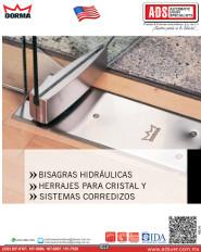 Dorma Catalogo BISAGRAS HIDRÁULICAS, HERRAJES PARA CRISTAL Y SISTEMAS CORREDIZOS