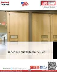 Dorma Catalogo BARRAS DE ANTIPÁNICO / PÁNIC