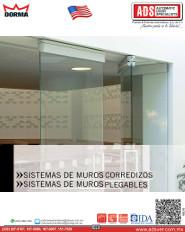 Dorma Catalogo SISTEMAS DE MUROS CORREDIZOS, SISTEMAS DE MUROS PLEGABLES