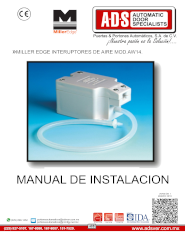 Manual de Instalacion, Manual de Instalacion Interuptores de Aire Miller Edge MOD.AW14, Puertas y Portones Automaticos S.A. de C.V.