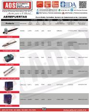 CATALOGO GENERAL ALLMATIC.pdf, ADS, ADS ALLMATIC, Puertas y Portones Automaticos S.A. de C.V.