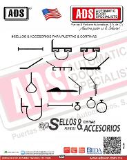 Sellos Inferiores Superiores y Perimetrales, ADS Puertas y Portones Automaticos S.A. de C.V.