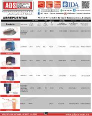 Cátalogo General ADS, Puertas y Portones Automaticos S.A. de C.V.