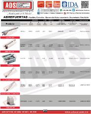 Catálogo Automatismos Erreka, ADS Puertas y Portones Automaticos S.A. de C.V., ADS Puertas & Portones Automaticos S.A. de C.V.