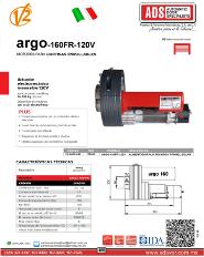 ADS Cátalogos V2, Operadores Corredizo, Operadores para Puertas Corredizas ARGO-120V, ARGO-120V.pdf, Puertas y Portones Automaticos S.A. de C.V.