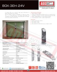 Abrepuertas Basculante DITEC BOX-3EH-24V, ADS Puertas y Portones Automaticos S.A. de C.V.