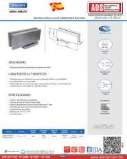 Catalogo Bisagra Hidraulica de Sobreponer MOD.EN80, ADS Puertas y Portones Automaticos