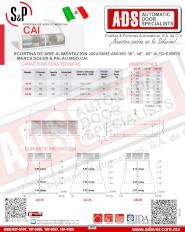 Soler & Palau, Cortina de Aire Comercial MOD.CAI 6.0Mts(65)dB, ADS Puertas & Portones Automaticos S.A. de C.V.