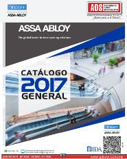 Catálogo General Tesa 2017, ADS Puertas y Portones Automaticos
