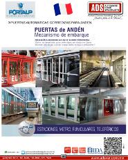 PORTALP, Catalogo PUERTAS AUTOMATICAS CORREDIZAS PARA ANDEN