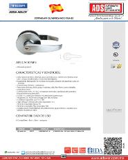 Catalogo Cerradura Cilindrica MOD.PISA G2, ADS Puertas y Portones Atomaticos