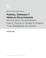 Guia de Certificado UL Puertas, Ventanas & Herrajes, ADS Puertas y Portones Automaticos S.A. de C.V.
