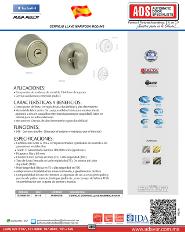 Catalogo Cerrojo Llave Mariposa MOD.546, ADS Puertas y Portones Automaticos
