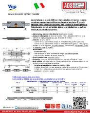 Viro Chapa Mecanica Cent para Cortina Metalica 155X55MM.