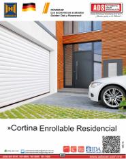 Cortina Enrollable Residencial Hormann, abrepuertas ascendente,corredizo,maroma,barrera,enrollable