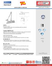 Catalogo Cierrapuertas CH MOD.2000, ADS Puertas y Portones Automaticos