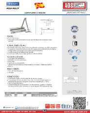 Catalogo Cierrapuertas G MOD.8501, ADS Puertas y Portones Atomaticos