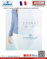 PORTALP, Catalogo TIPOS Y APLICACIONES DE PUERTAS AUTOMATICAS
