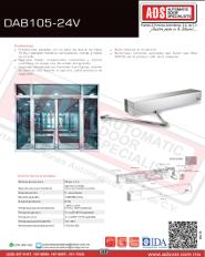 Barrera DITEC QIK4E-230V-7EH-80EH-24V, ADS Puertas y Portones Automaticos S.A. de C.V.