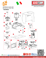 Partes de Reemplazo FORTECO 2000-230V-FORTECO 2500-230V