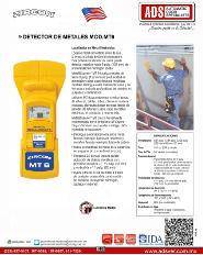 Zircon, Detector de Metales MOD.MT6, ADS Puertas y Portones Automaticos S.A. de C.V.