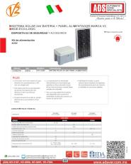 Dispositivos de Seguridad y Accesorios, Fotoceldas Antivandalicas, Kit de Alimentacion Solar Eco-Logic.pdf