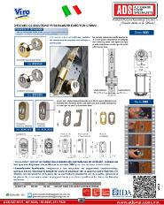 Viro Escudo de Seguridad para Cilindro Europeos Cromo