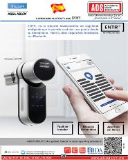 Catalogo Cerrdura Bluetooth MOD.ENTR, ADS Puertas y Portones Automaticos