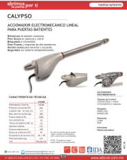 Catalogo Erreka Calypso, Puertas y Portones Automaticos S.A. de C.V., Puertas & Portones Automaticos S.A. de C.V.