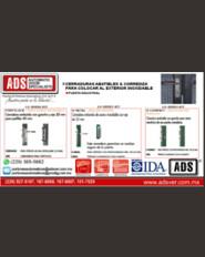 Boletín, Cerraduras Abatibles & Corrediza Para Colocar al Exterior Inoxidable, Puertas y Portones Automaticos S.A. de C.V.