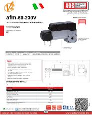 ADS Cátalogos V2, Operadores Corredizo, Operadores para Puertas Corredizas FM60-230V, FM60-230V.pdf, Puertas y Portones Automaticos S.A. de C.V.