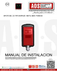 Fotocelda Tipo Espejo 15MTS. MOD.PXBEAM, ADS Puertas & Portones Automaticos S.A. de C.V.