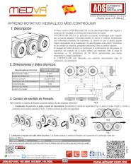 MEDVA, Freno Rotativo Hidraulico MOD.CONTROLGIR