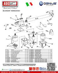 Genius, Partes de Reemplazo EUROBAT300 115VAC/24VDC