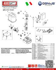 Genius, Partes de Reemplazo MILORD 115VAC, ADS Puertas & Portones Automaticos S.A. de C.V.
