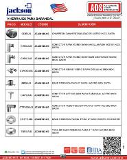 Jackson, Herrajes para Aluminio, Puertas y Portones Automaticos S.A. de C.V.