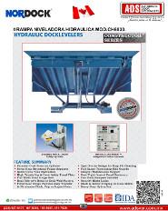 Nordock, Rampa Niveladora Hidraulica MOD.CH6830, Puertas y Portones Automaticos S.A. de C.V.